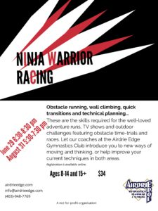 Ninja Warrior Racing @ Edge | Airdrie | Alberta | Canada